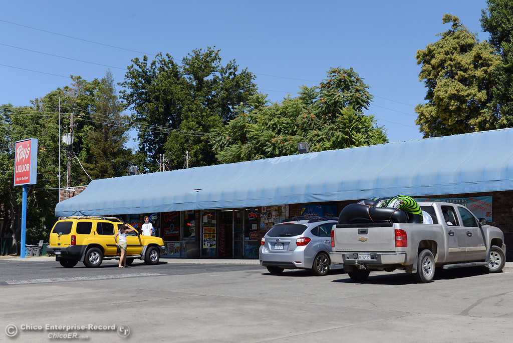 Description of . There were very few people that came out to Ray\'s Liquor for tubes to float on the river that enforced an alcohol ban as part of Labor Day weekend Saturday, August 31, 2013 in Chico, Calif.  (Jason Halley/Chico Enterprise-Record)