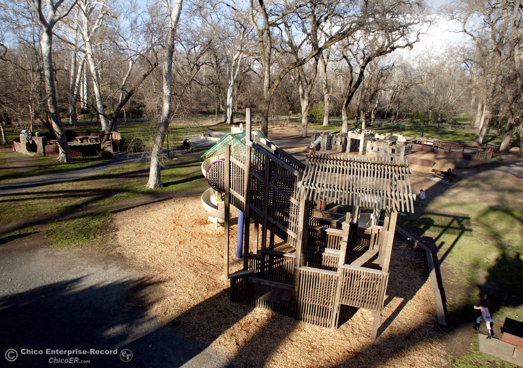 . A wide view of the play area at Caper Acres seen in this file photo from February 2007. (Ty Barbour/Chico Enterprise Record)