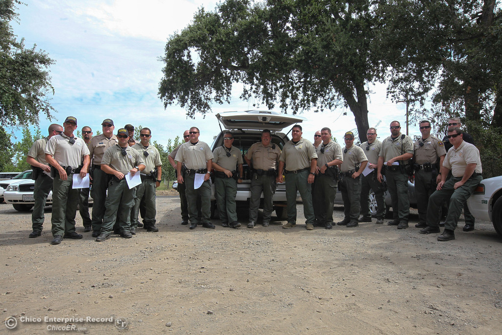 . Butte County Sheriff\'s Office pose for a photo on Sunday, September 1, 2013. (Frank Rebelo/Staff Photo)