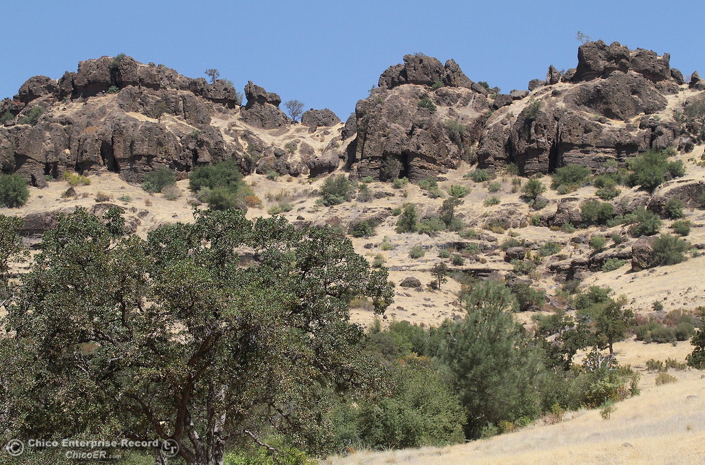 . A view of the ridge of upper Bidwell Park on July 27, 2012. (Bill Husa/Chico Enterprise-Record)